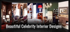 [Infographic] Beautiful Celebrity Interior Designs