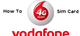 How to Get Vodafone 4G SIM Card for your 4G Phone