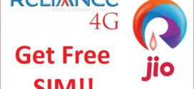 How to Get Reliance Jio's 4G Sim for Free!